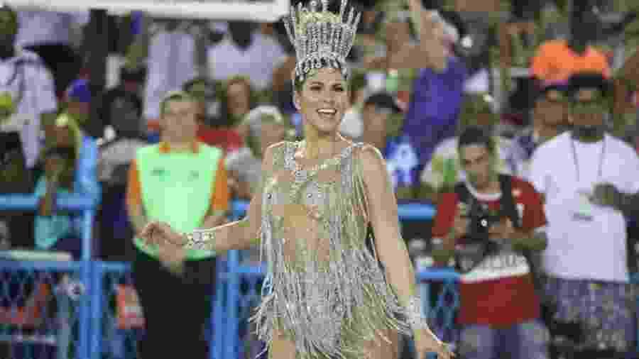 Livia Andrade é musa da Paraíso do Tuiuti - Daniel Pinheiro/AgNews