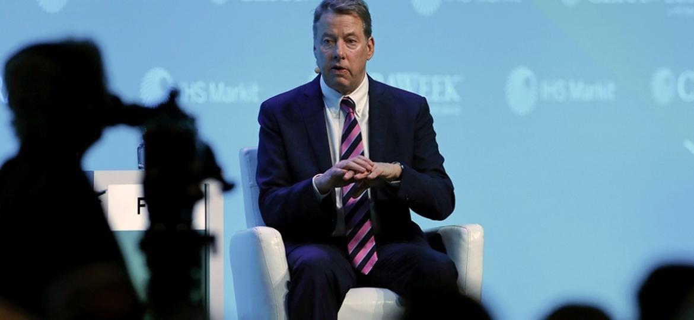 Bill Ford, CEO e bisneto do fundador da Ford, durante participação na CERAWeek - Aaron M. Sprecher/Bloomberg