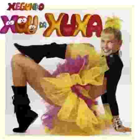 """Xuxa comenta segredo na capa do disco """"Xou da Xuxa 2"""" - Reprodução/SBT"""