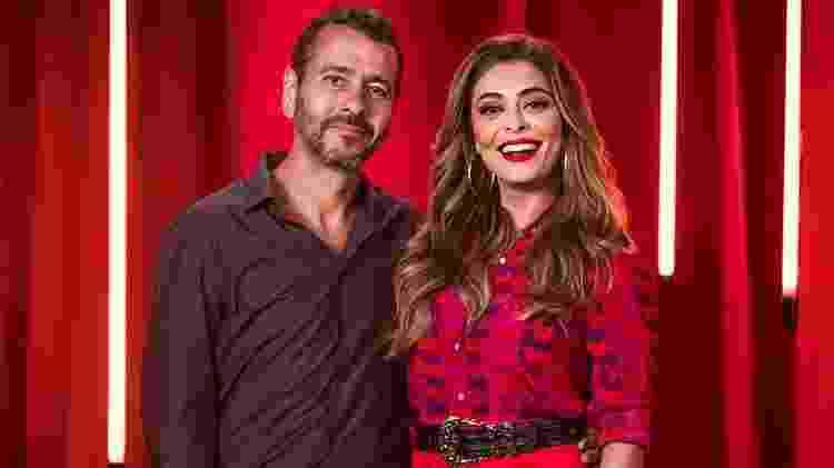 Maria Da Paz (Juliana Paes) e Amadeu (Marcos Palmeira) se reencontram após 20 anos - João Miguel Júnior/Globo - João Miguel Júnior/Globo