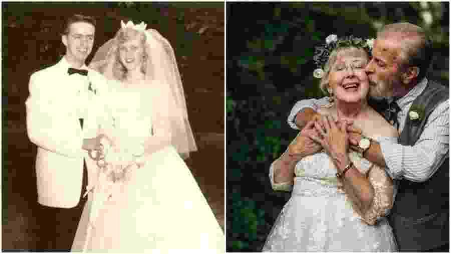 George e Virginia Brown se casaram em 1959 - Abigail Lydick/HuffPost