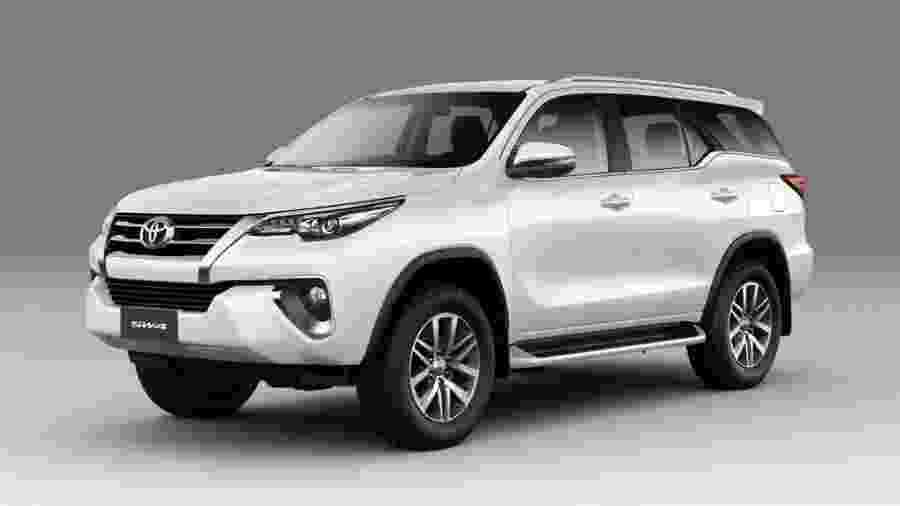 Toyota SW4 - Divulgação