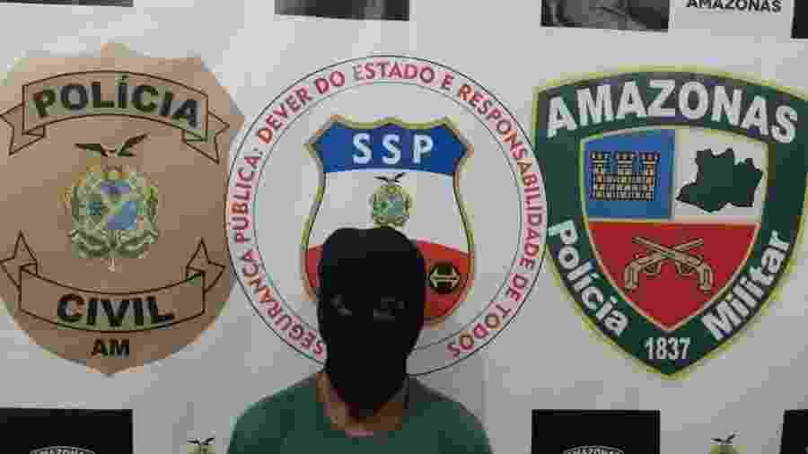 Jovem é preso por estupro de vulnerável no Amazonas - Divulgação