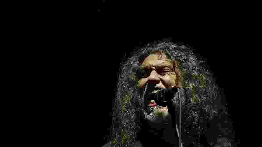 Tom Araya, vocalista e baixista da banda Slayer, no Rock In Rio 2019 - THIAGO RIBEIRO/AGIF/ESTADÃO CONTEÚDO
