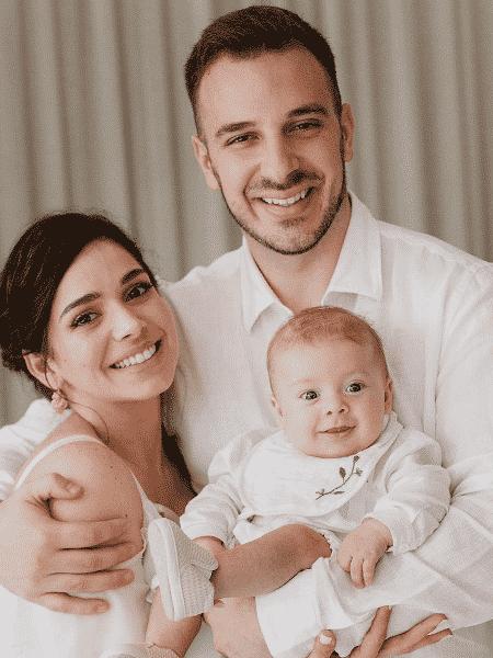 Sabrina Petraglia compartilha fotos do batizado do filho - Reprodução/Instagram