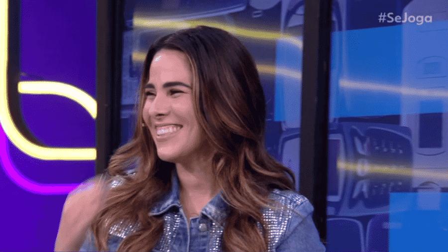 Wanessa Camargo participa do Se Joga - Reprodução/Globo