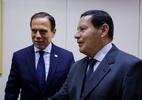 Sem Bolsonaro, Doria visita Mourão e nega apoiar Joice à Prefeitura de SP