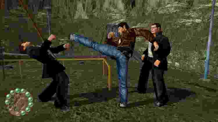 Shenmue Fight - Reprodução - Reprodução