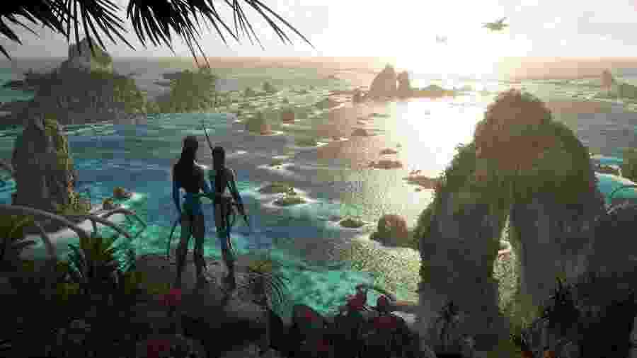 Uma das novas artes conceituais de Avatar 2 - Reprodução/Twitter