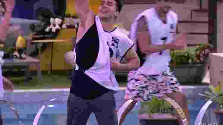 Petrix vence a primeira prova do líder do BBB 20 - Reprodução/TV Globo - Reprodução/TV Globo