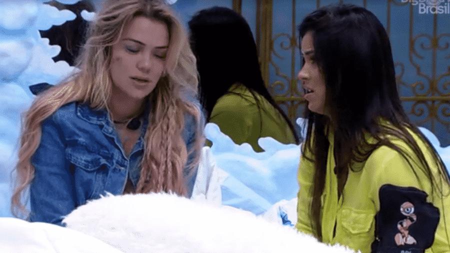 Ivy fala com Marcela sobre saída de Daniel - Reprodução/Globoplay