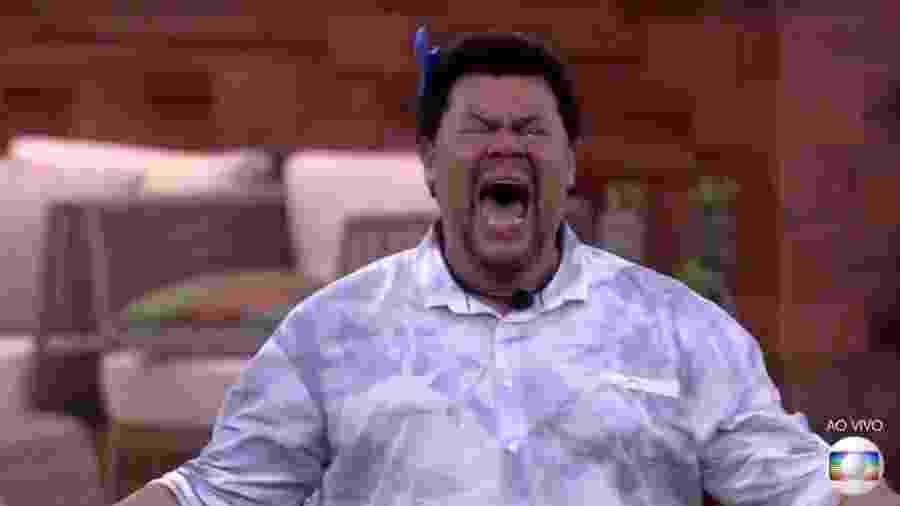Babu comemora muito por sobreviver a mais um paredão do BBB 20 - Reprodução/TV Globo
