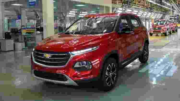 Groove é versão Chevrolet do Baojun 510 - Reprodução