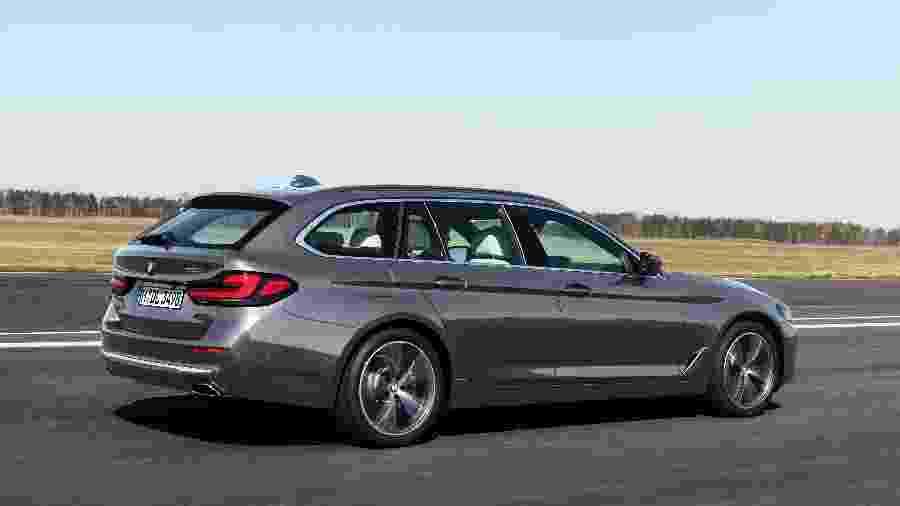 Novo BMW Série 5 - Divulgação