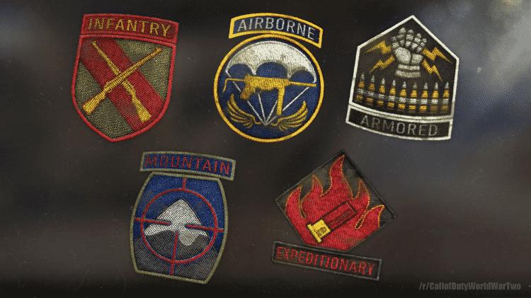 Call of Duty WW2 Divisões - Divulgação/Reddit - Divulgação/Reddit
