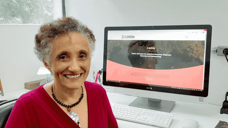 A médica imunologista Ester Cerdeira Sabino esteva à frente da equipe que fez o sequenciamento genético da cepa do coronavírus no Brasil - Arquivo Pessoal/Divulgação - Arquivo Pessoal/Divulgação