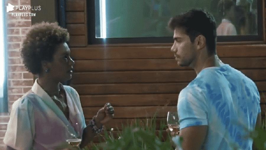 Mariano diz nutrir um sentimento de carinho por Jakelyne Oliveira - Divulgação/PlayPlus