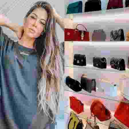 Mayra Cardi exibe closet de bolsas grifadas - Reprodução / Instagram