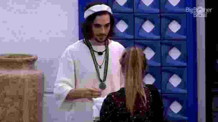BBB 21: Fiuk aconselha Carla Diaz - Reprodução/Globoplay - Reprodução/Globoplay