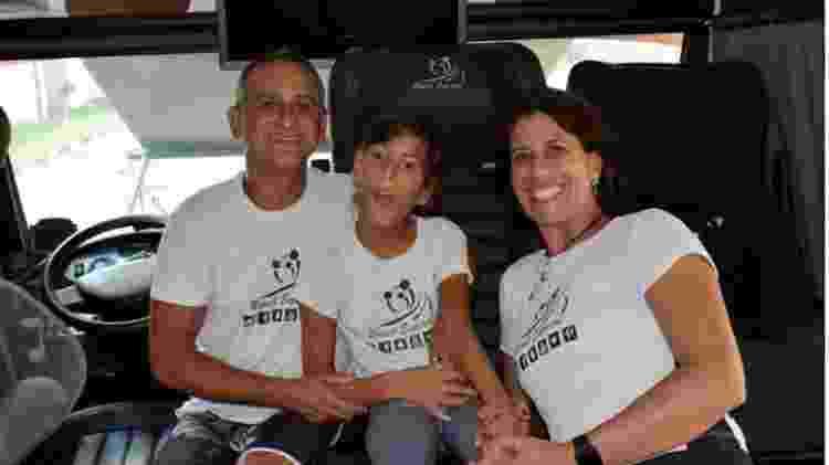 Viagens da família deram origem ao projeto Brasil Especial - Arquivo pessoal - Arquivo pessoal
