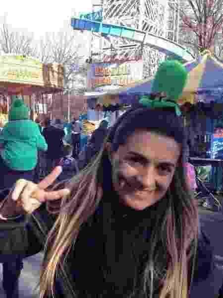 Silvinha se mudou para Dublin, na Irlanda, para poder pagar as viagens e conhecer os países - Arquivo pessoal - Arquivo pessoal