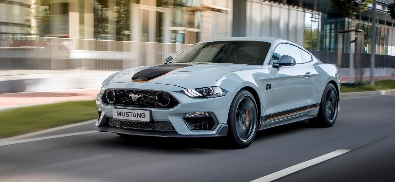 Mustang Mach 1 acaba de desembarcar no país por R$ 499 mil - Divulgação