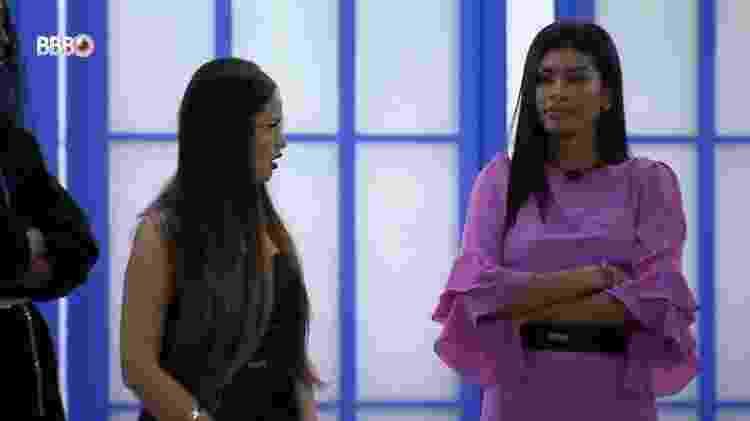 BBB 21: Pocah conta para Juliette que votou nela - Reprodução/Globoplay - Reprodução/Globoplay