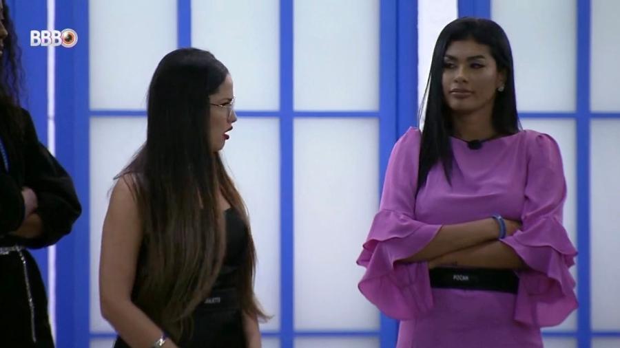 BBB 21: Pocah conta para Juliette que votou nela - Reprodução/Globoplay