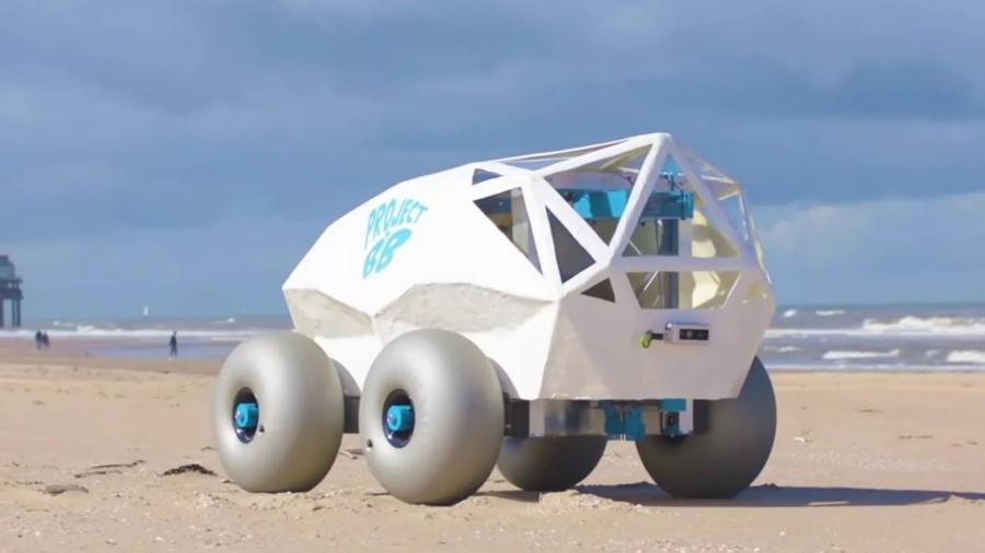 Robô autônomo BeachBot - Divulgação