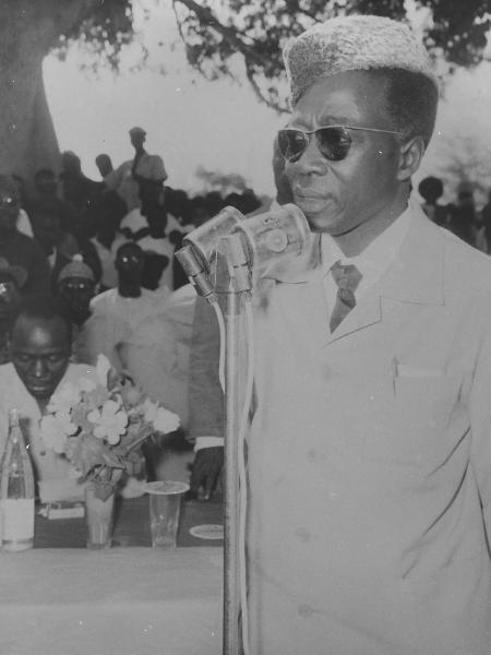 Na foto, Léopold Sédar Senghor, filósofo que presidiu Senengal entre 1960 e 1980  - Autor desconhecido, Fundo da Agência Nacional