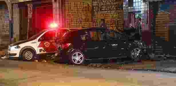 Polícia atende a um chamado de acidente em São Paulo (SP) - Leonardo Benassatto/Futura Press/Folhapress - Leonardo Benassatto/Futura Press/Folhapress