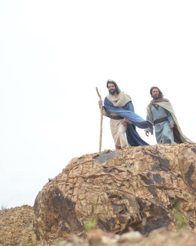 Moisés e Arão invocam a sétima praga