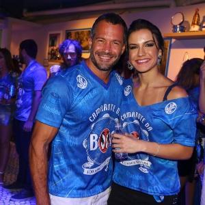 Malvino Salvador e Kyra Gracie - Divulgação/ Camarote BOA