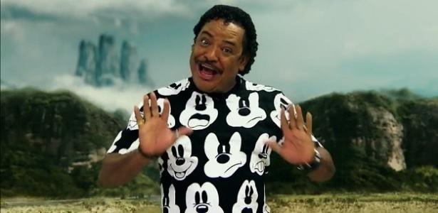 Compadre Washington, líder do É o Tchan, anuncia filme com Jackie Chan na Globo - Reprodução/TV Globo