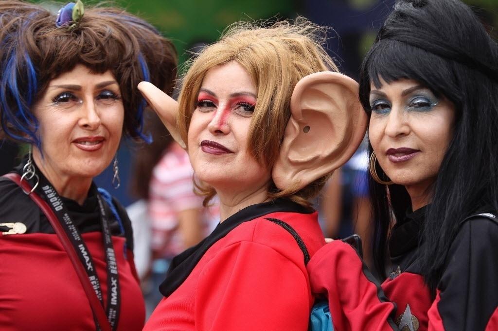 23.jul.2016 - A Comic-Con está de braços abertos para receber uma Forengi e outras aliens de