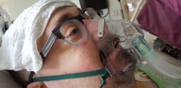 """Morrendo de tanto jogar: Joe """"Geekdomo"""" Marino após cirurgia no coração"""