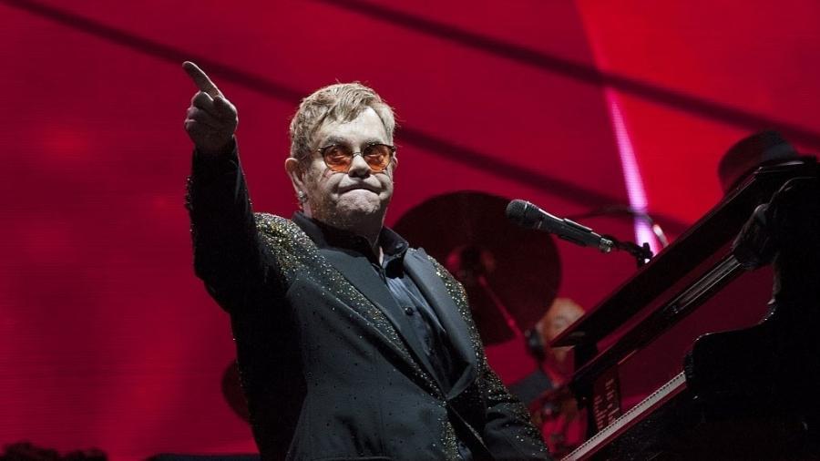 Encerrando a noite, Elton John entrega sua coleção de clássicos em São Paulo - Reinaldo Canato/UOL