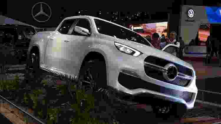 Picape será maior lançamento da Mercedes nos últimos anos: inaugura presença da marca em novo segmento - Murilo Góes/UOL