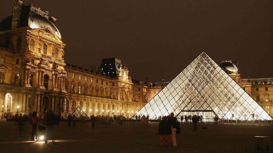 Museu do Louvre, em Paris - Getty Images