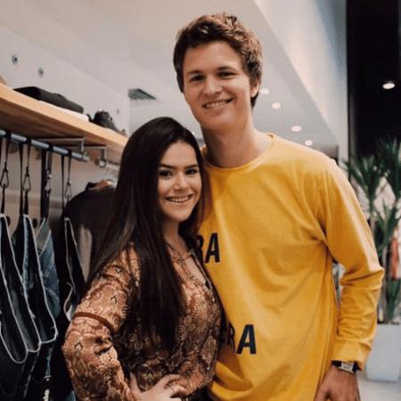 Maisa Silva e Ansel Elgort - Reprodução/Instagram/maisa