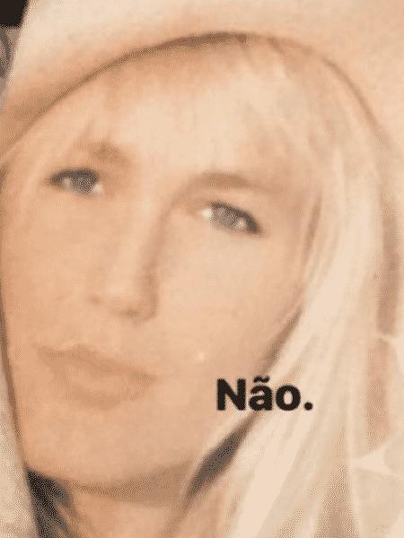 """Mas Xuxa """"não aceitou""""... - Reprodução/Instagram - Reprodução/Instagram"""