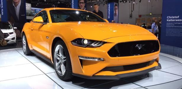 Mustangão vem para o Brasil do jeitinho que está sendo exibido no Salão de Frankfurt