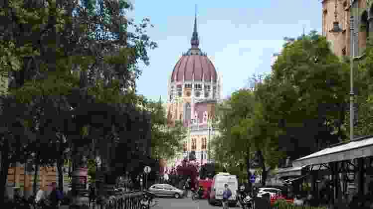 Cidade de Budapeste, na Hungria - Marcel Vincenti/UOL - Marcel Vincenti/UOL