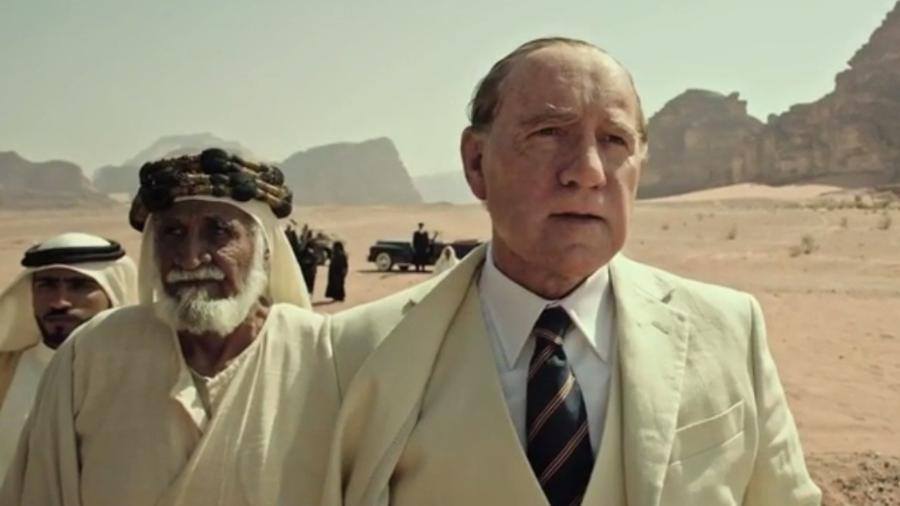 """Kevin Spacey no filme """"Todo o Dinheiro do Mundo"""", de Ridley Scott - Reprodução"""
