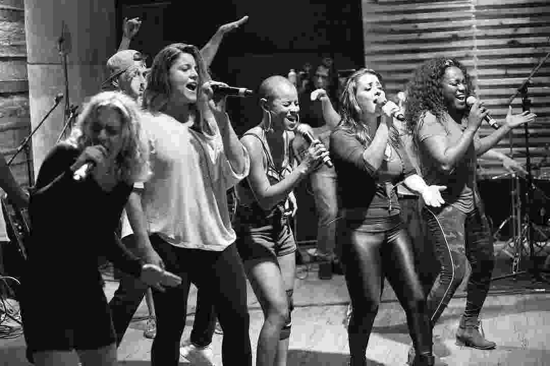 Rouge ensaia para show de retorno em São Paulo - Carol Caminha/Divulgação
