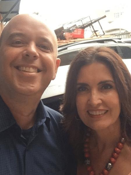 Globo terá Alex Escobar e Fátima Bernardes nos desfiles do Rio - Reprodução/Instagram/fatimabernardes