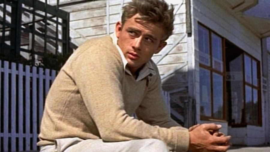 """James Dean em cena de """"Vidas Amargas"""" (1955) - Divulgação"""
