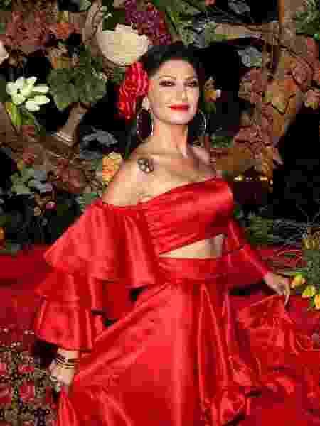 Antonia Fontenelle foi de cigana ao Baile do Copa - Manuela Scarpa/Brazil News - Manuela Scarpa/Brazil News