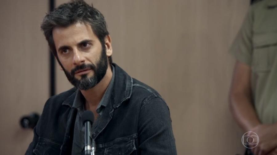 """O julgamento do delegado Vinícius registrou o pico de audiência de """"O Outro Lado do Paraíso"""" - Reprodução/TV Globo"""
