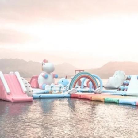 Parque inflável  - Reprodução/Instagram